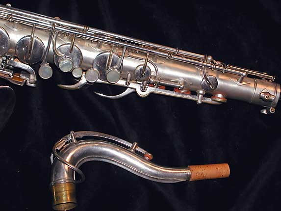 Buescher Silver Plate Aristocrat Series III Tenor - 331005 - Photo # 4