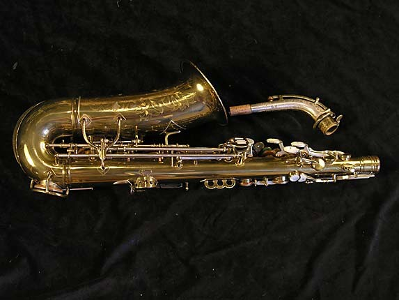 King Lacquer-Sterling Neck Zephyr Alto - 237127 - Photo # 2