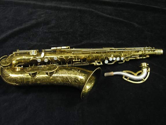 King Lacquer-Sterling Neck Zephyr Tenor - 209917 - Photo # 1