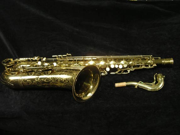 King Lacquer-Sterling Neck Super 20 Tenor - 313306 - Photo # 1