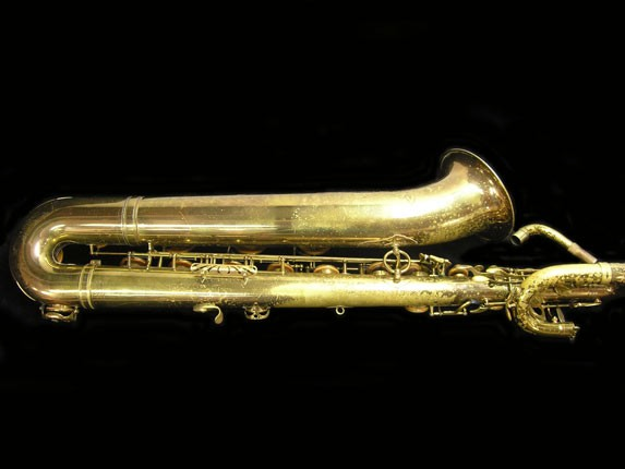 "Selmer Lacquer Mark VI ""Low A"" Baritone - 93188 - Photo # 4"