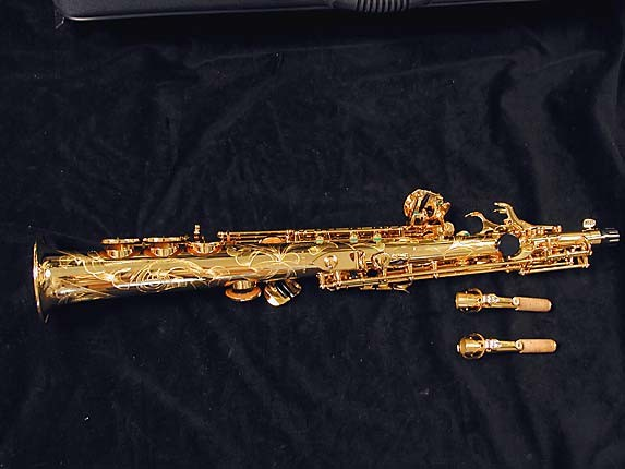 Selmer Gold Plate SA80 serie III Soprano - 637920 - Photo # 3