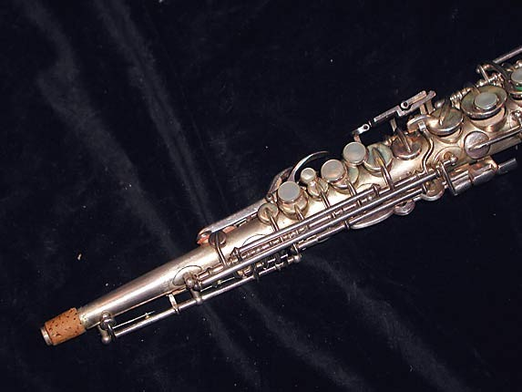 Buescher Silver Plate True Tone C Soprano - 236834 - Photo # 2