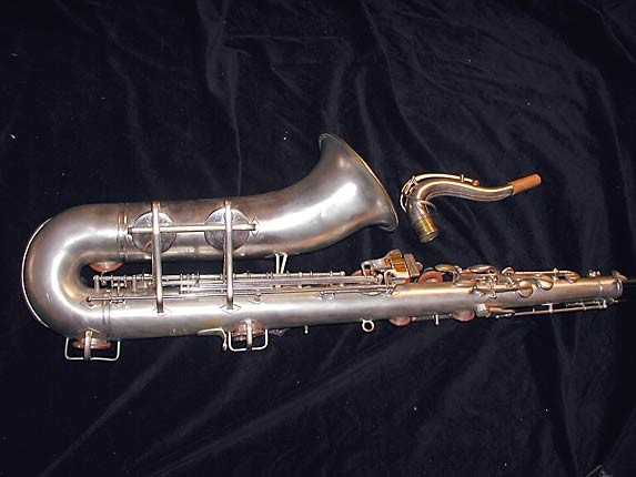 Buescher Silver Plate Aristocrat Series III Tenor - 331005 - Photo # 5