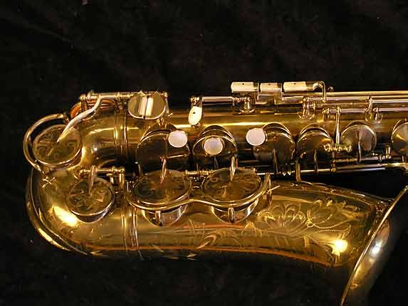 King Lacquer-Sterling Neck Zephyr Alto - 237127 - Photo # 3