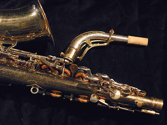 King Lacquer-Sterling Neck Super 20 Alto - 364965 - Photo # 6