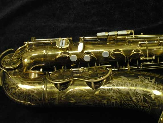 King Lacquer-Sterling Neck Zephyr Tenor - 209917 - Photo # 2