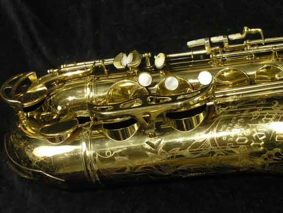 King Lacquer-Sterling Neck Super 20 Tenor - 313306 - Photo # 2
