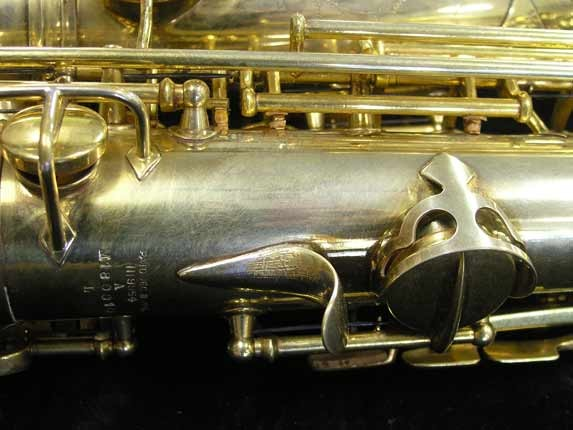 "Conn ""Portrait"" Gold Plate ""Angel"" Alto - 180010 - Photo # 20"