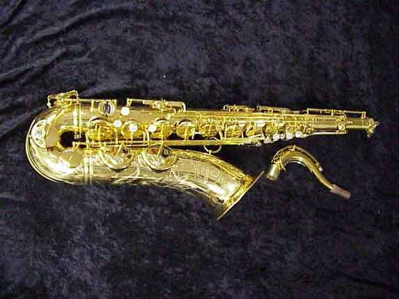 Selmer Gold Plate Super Balanced Action Tenor - 42200 - Photo # 1