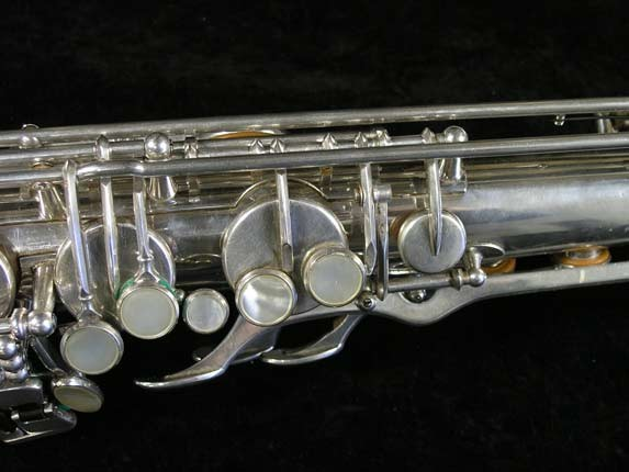 Selmer Silver Plate Mark VI Tenor - 82047 - Photo # 7