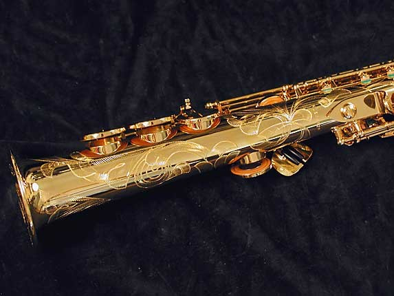 Selmer Gold Plate SA80 serie III Soprano - 637920 - Photo # 4