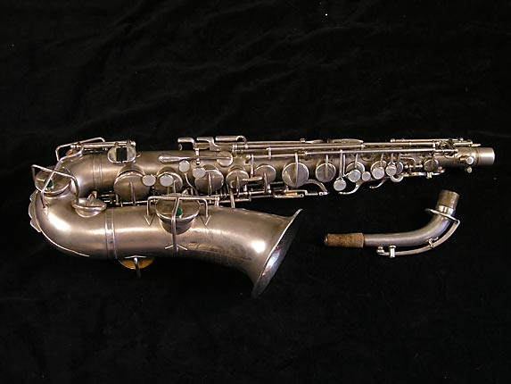 Buescher Matte Silver Plate True Tone Alto - 201428 - Photo # 1