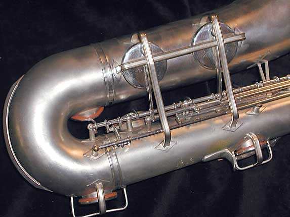 Buescher Silver Plate Aristocrat Series III Tenor - 331005 - Photo # 6