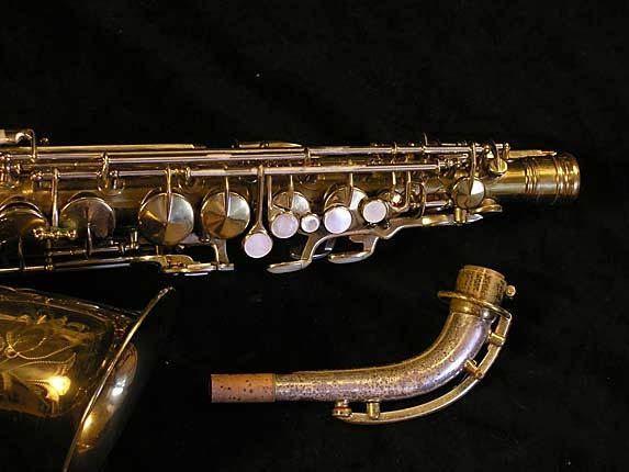King Lacquer-Sterling Neck Zephyr Alto - 237127 - Photo # 4