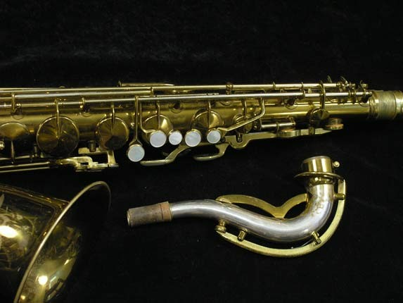 King Lacquer-Sterling Neck Zephyr Tenor - 209917 - Photo # 3
