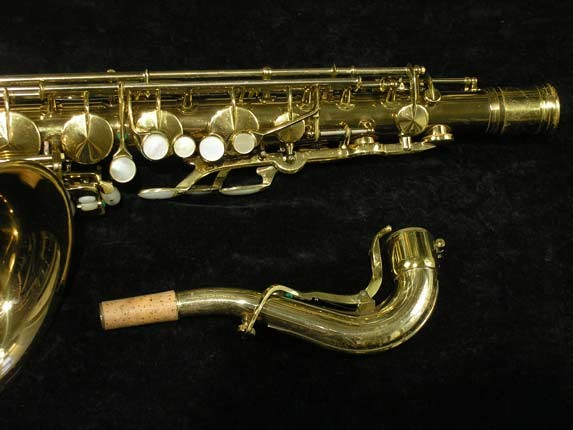 King Lacquer-Sterling Neck Super 20 Tenor - 313306 - Photo # 3