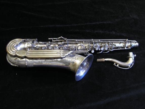 Keilwerth Silver Plate Toneking Tenor - 40304 - Photo # 1