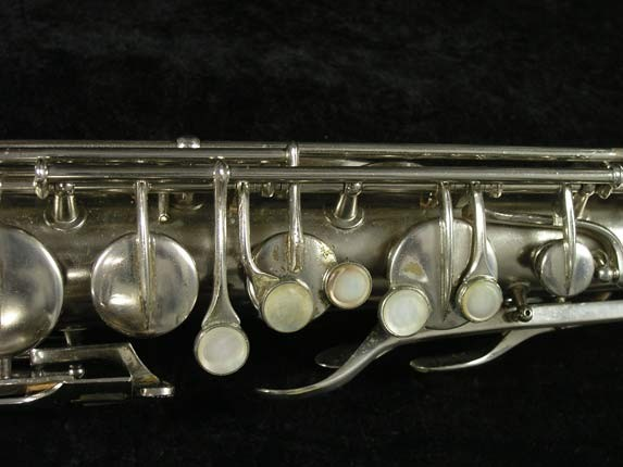 Conn Nickel Plate Chu Berry Tenor - 210338 - Photo # 7