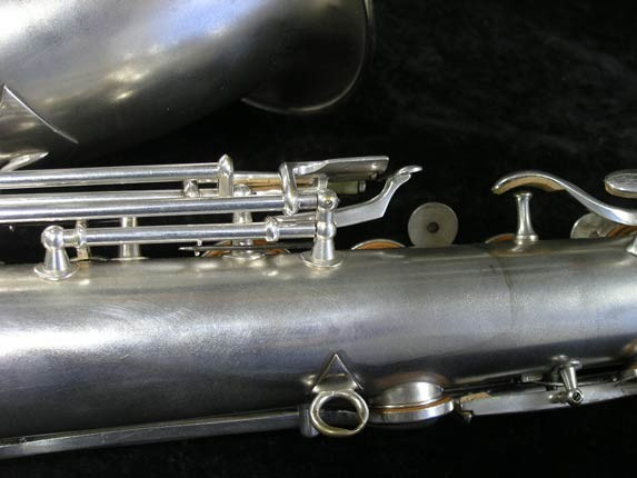 "Conn ""New Wonder"" Matte Silver Plate Tenor - 98888 - Photo # 15"