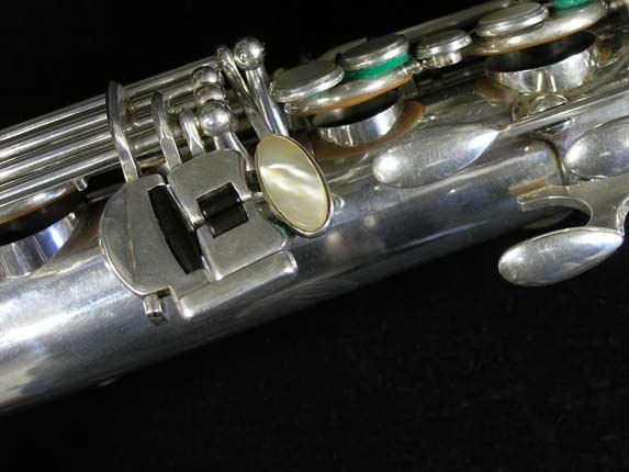 Selmer Silver Plate Mark VI Tenor - 82047 - Photo # 8