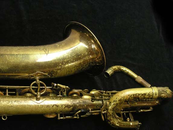 "Selmer Lacquer Mark VI ""Low A"" Baritone - 93188 - Photo # 6"