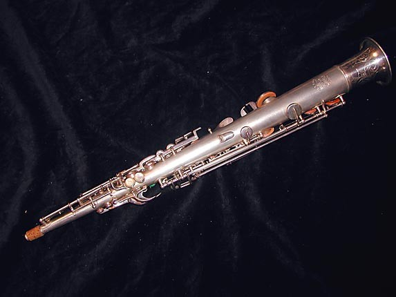 Buescher Silver Plate True Tone C Soprano - 236834 - Photo # 4