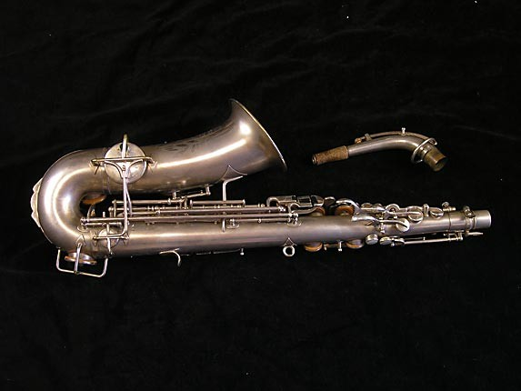 Buescher Matte Silver Plate True Tone Alto - 201428 - Photo # 2