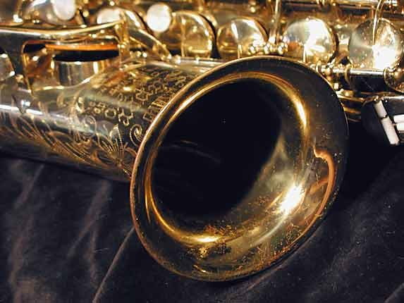 King Lacquer-Sterling Neck Super 20 Alto - 364965 - Photo # 8
