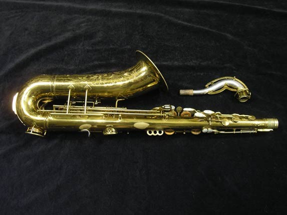 King Lacquer-Sterling Neck Zephyr Tenor - 209917 - Photo # 4