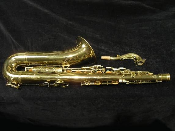 King Lacquer-Sterling Neck Super 20 Tenor - 313306 - Photo # 4