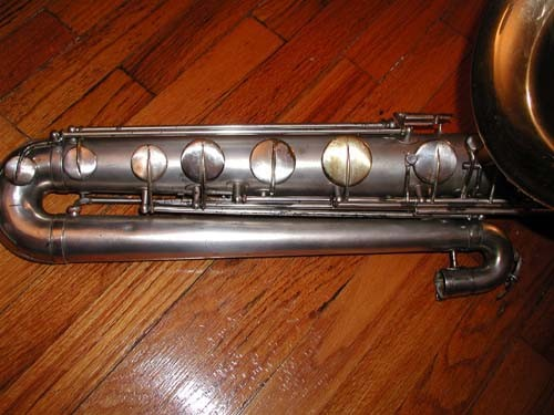 Buescher True Tone Bass Sax 14