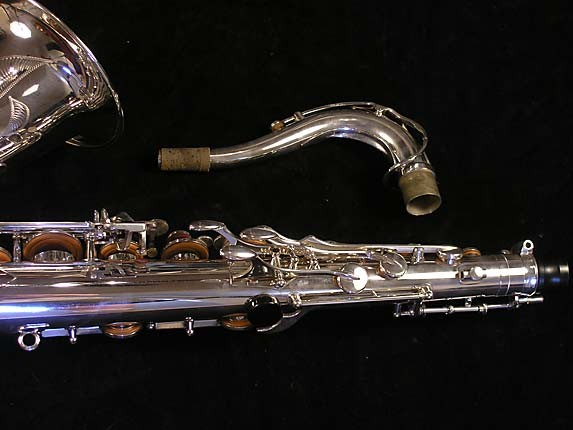 Yamaha Silver Plate Custom YTS-875 - 005658 - Photo # 6