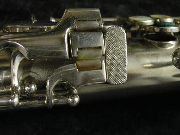 Conn Nickel Plate Chu Berry Tenor - 210338 - Photo # 8