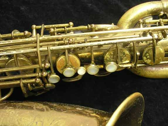 "Selmer Lacquer Mark VI ""Low A"" Baritone - 93188 - Photo # 7"
