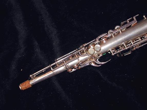 Buescher Silver Plate True Tone C Soprano - 236834 - Photo # 5