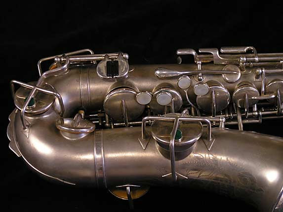 Buescher Matte Silver Plate True Tone Alto - 201428 - Photo # 3