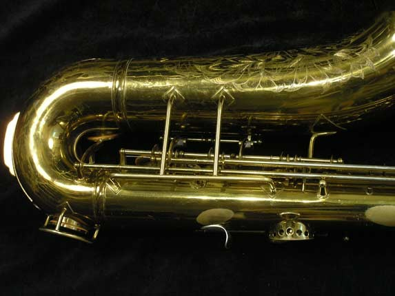 King Lacquer-Sterling Neck Zephyr Tenor - 209917 - Photo # 5
