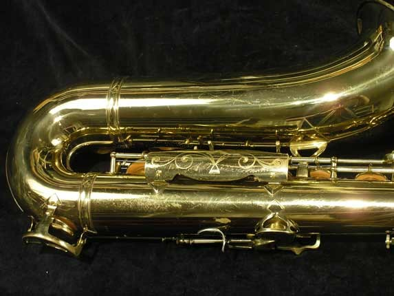 King Lacquer-Sterling Neck Super 20 Tenor - 313306 - Photo # 5
