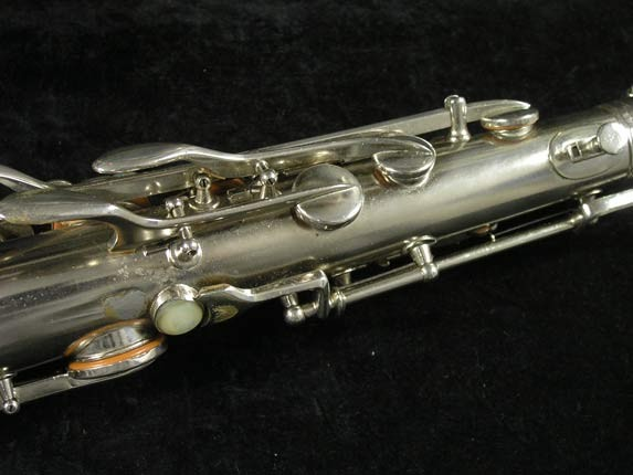 Conn Nickel Plate Chu Berry Tenor - 210338 - Photo # 9