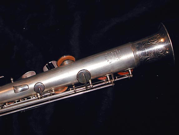 Buescher Silver Plate True Tone C Soprano - 236834 - Photo # 6