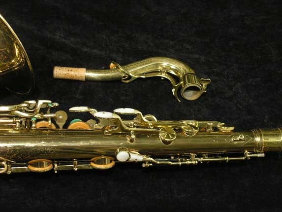 King Lacquer-Sterling Neck Super 20 Tenor - 313306 - Photo # 6
