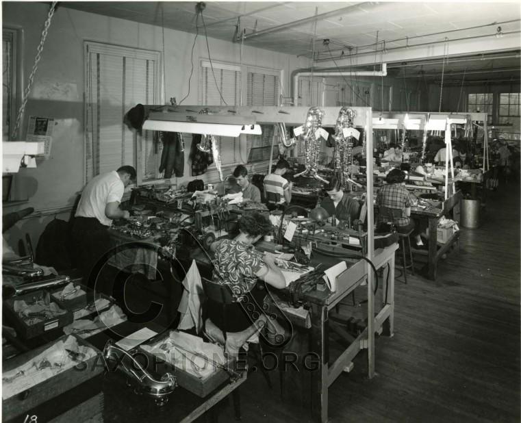Selmer Elkhart Factory 1950