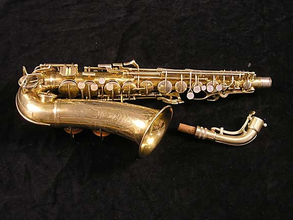 Conn Gold Plate Transitional 6M Alto - 250404 - Photo # 1
