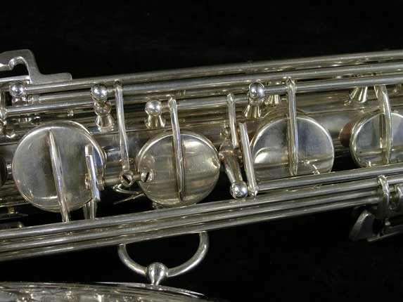Selmer Silver Plate Mark VI Tenor - 82047 - Photo # 11