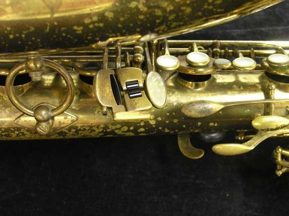 "Selmer Lacquer Mark VI ""Low A"" Baritone - 93188 - Photo # 9"