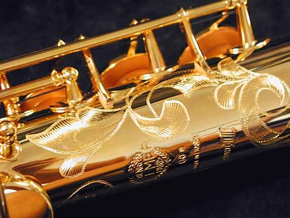 Selmer Gold Plate SA80 serie III Soprano - 637920 - Photo # 8