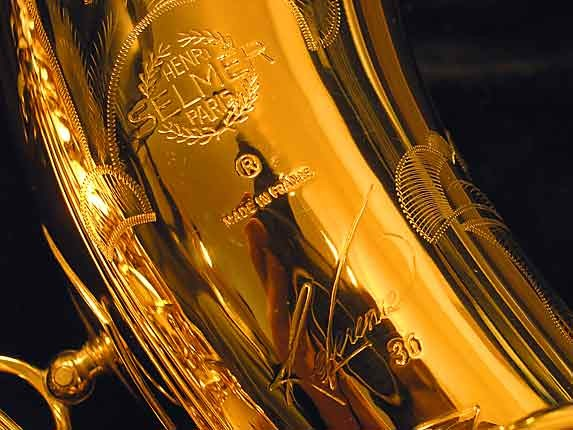 Selmer Gold Plate Reference 36 Tenor - 622447 - Photo # 3