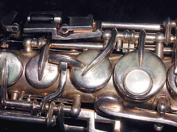 Buescher Silver Plate True Tone C Soprano - 236834 - Photo # 7