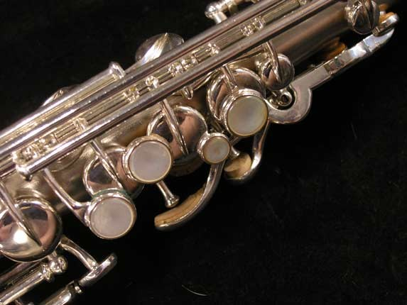 Buescher Silver Plate True Tone Soprano - 158769 - Photo # 4